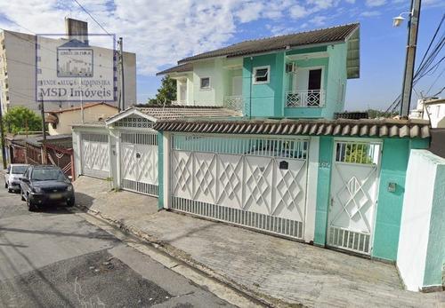 Sobrado A Venda No Bairro Vila Augusta Em Guarulhos - Sp.  - 3033-1