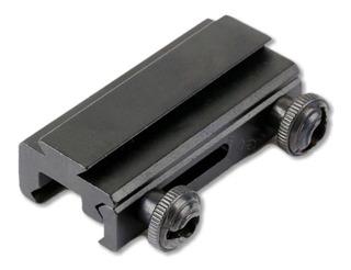 Adaptador Trilho 20mm Para 11mm Red Dot Luneta Carabina