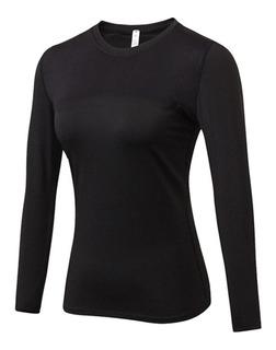 Camiseta Remera Termica Primera Piel Mujer Premiun Jeans710