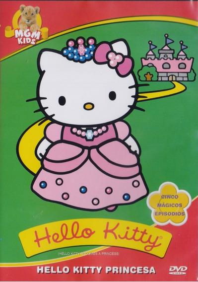 Hello Kitty Princesa Coleccion 5 Episodios Serie Dvd