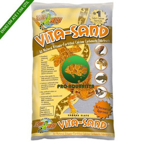 Zoomed Vita-sand ( Sahara Slate ) Substrato Para Terrários