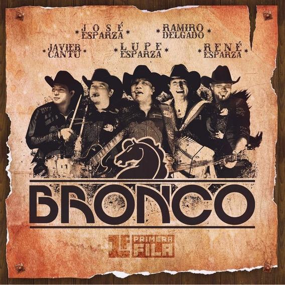 Bronco Primera Fila Cd + Dvd Nuevo Cristian Castro Venegas