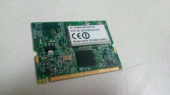 Placa De Rede Wireless Do Notebook Acer Aspire 3100