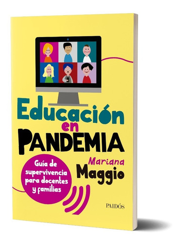 Educación En Pandemia De Mariana Maggio - Paidós