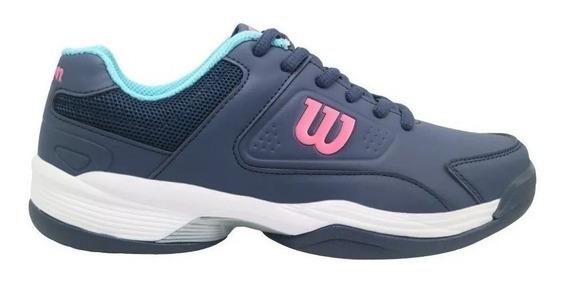 Zapatillas Tenis Wilson Mujer Game Tennis 2.0 Femenina