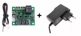 Controlador Temperatura Digital Termostato 12volts + Fonte