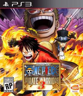 One Piece Pirate Warriors 3 Ps3 Original Playstation 3