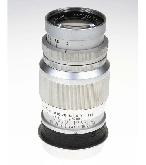 Objetiva Leica L39 Elmar 90mm F4