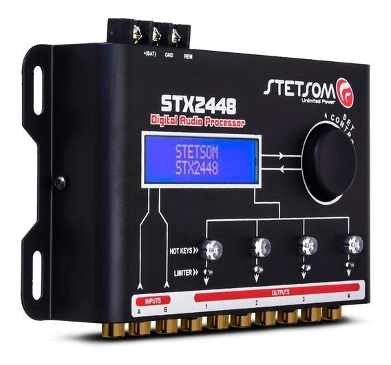 Processador De Áudio Digital Equalizado Stx2448 Stetsom