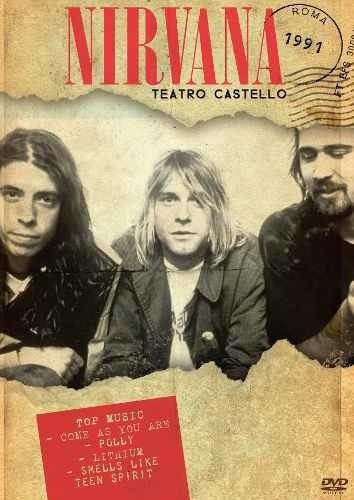 Dvd Nirvana Teatro Castelo 1991