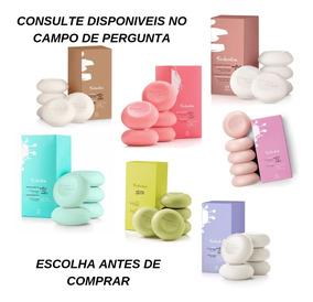 Kit 10 Caixas Sabonetes Com 5 Unidades 90g Natura+ Brinde