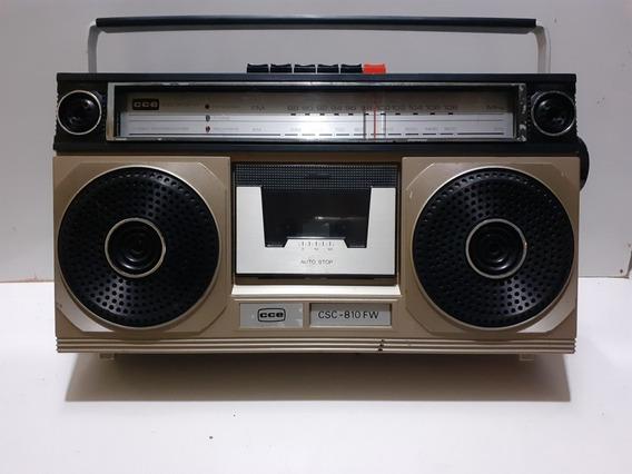 Rádio Gravador Cce Csc-810fw