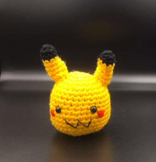 Mimikyu - Pokémon - Amigurumi no Elo7 | Amigurumis da Ju (FF99AD) | 568x548