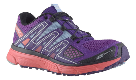 Zapatillas Mujer Salomon Trail Running X-mission 3 Pp/cp