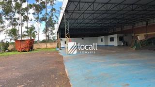 Galpão À Venda, 889 M² Por R$ 750.000 - Distrito Industrial - Monte Aprazível/sp - Ga0002