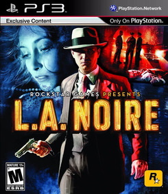 Jogo La Noire Ps3 Playstation 3 - Midia Fisica Original