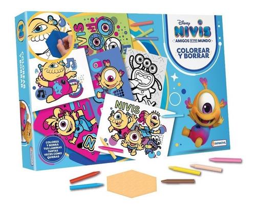 Nivis Colorear Y Borrar Original Tapimovil 1043 Envío Gratis