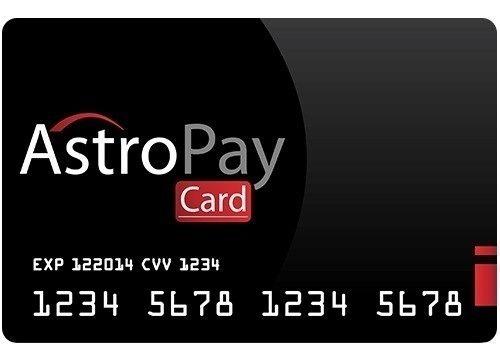 Cartão Astropay R$ 40,00