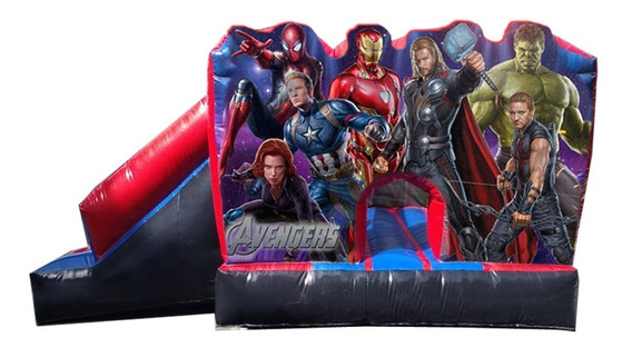 Brincolin Inflable Avengers Nuevo