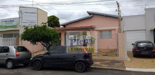 Casa Com 2 Dormitórios Para Alugar, 100 M²  - Centro - Sumaré/sp - Ca4182