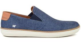 Tênis Sneaker Masculino Iate West Coast Jeans 118641 Oferta