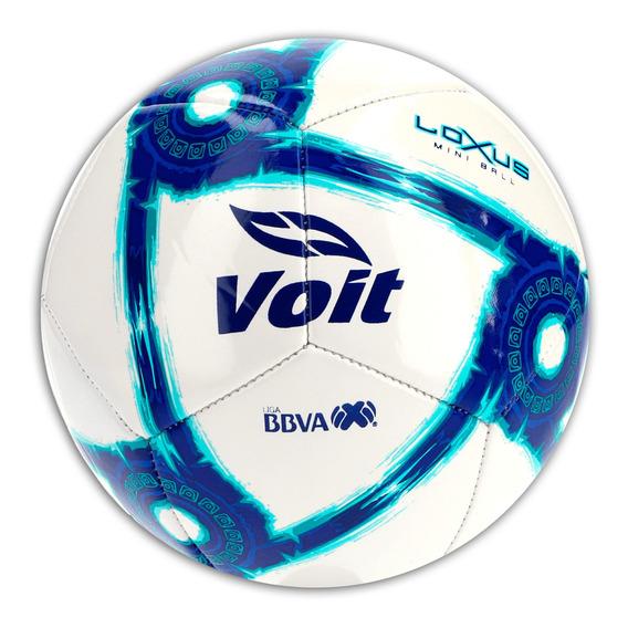 Mini Balón Voit Futbol Loxus Apertura 2019 Blanco