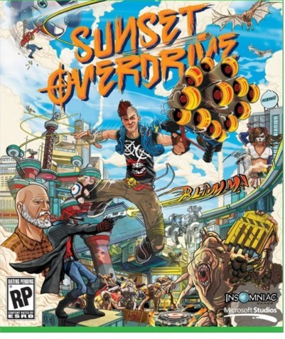 Sunset Overdrive Pc-dvd(midia Fisica)