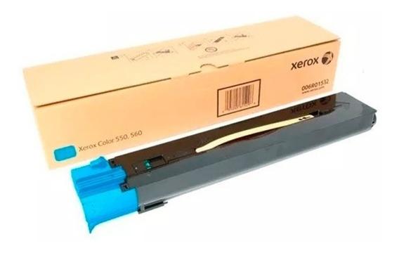 Toner Xerox X550 560 Ciano Original 006r01532