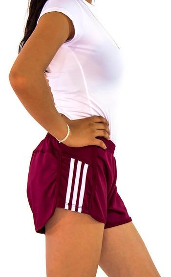 Short Deportivo Mujer Gym Sport Playa Licra Corto Dama 14