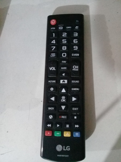 Controle Remote P/ Tv Lg Smart Led 49lh5150, Original
