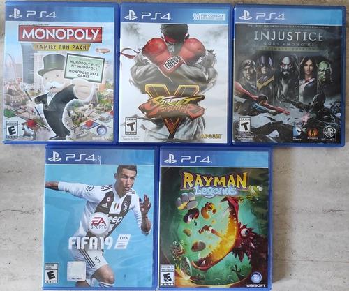 Videojuegos Juegos Ps4