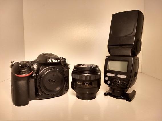 Nikon D7200 (não É D750, D850, D7100, D610)