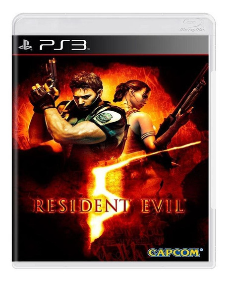 Resident Evil 5 Ps3 Mídia Física Pronta Entrega