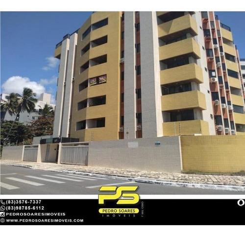 Apartamento Com 3 Dormitórios À Venda, 113 M² Por R$ 550.000 - Intermarés - Cabedelo/pb - Ap4938