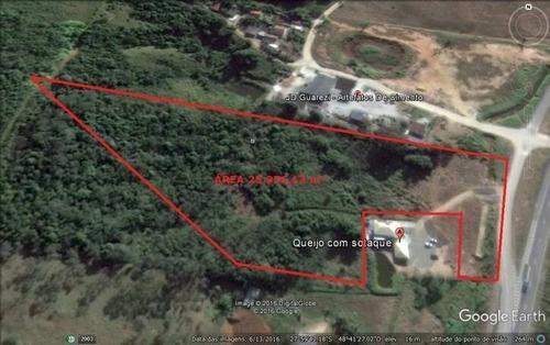 Imagem 1 de 3 de Área De 25.956,73 M² Em Morro Agudo - Paulo Lopes/sc - 2772