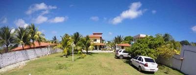 Casa A Venda Em Camaçari, Jacuípe, 4 Dormitórios, 2 Suítes, 3 Banheiros - Mm 1406