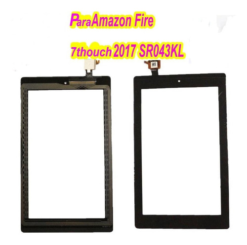 Imagem 1 de 1 de Tela Touch Para Amazon  Fire 7th 2017 Sr-043kl