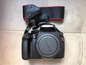 Câmera Fotográfica Canon T3 Com Lente Objetiva 18-55