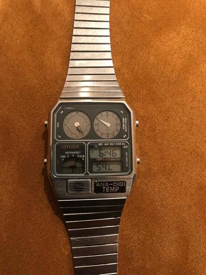 Reloj Citizen Ana-digi Temp Vintage