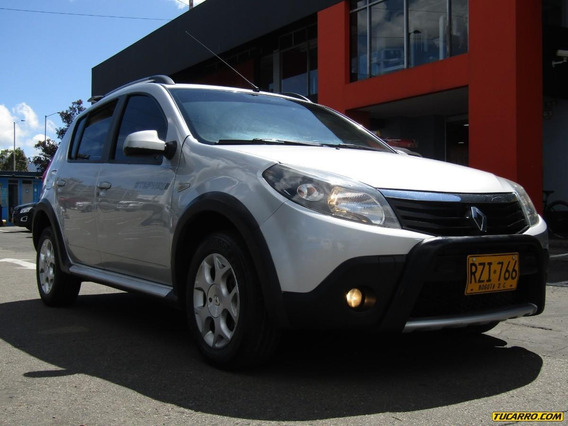 Renault Sandero Stepway Dynamique 1.6 Mt Aa Abs 2ab
