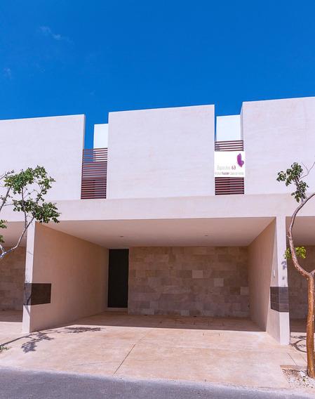 Casa En Renta Tipo Town House En Montebello Merida