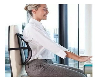 Corretor Apoio Postural Cadeira Ortopedico Encosto Lombar
