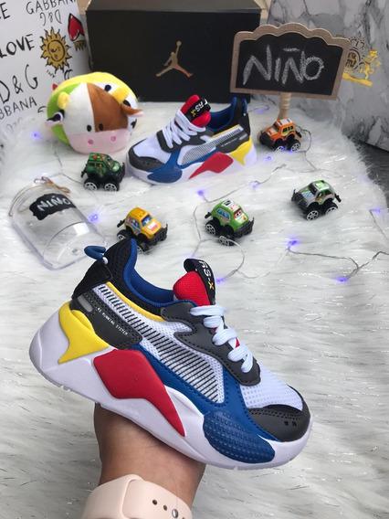 Zapatos Puma Rs Running System Para Niños