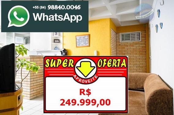 Apartamento Beira Mar Da Praia De Cotovelo, Todo Mobiliado - Double Flat - Ap0080