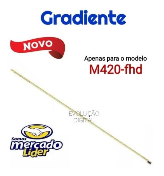 Barra De Led Tv Gradiente M420fhd Novo