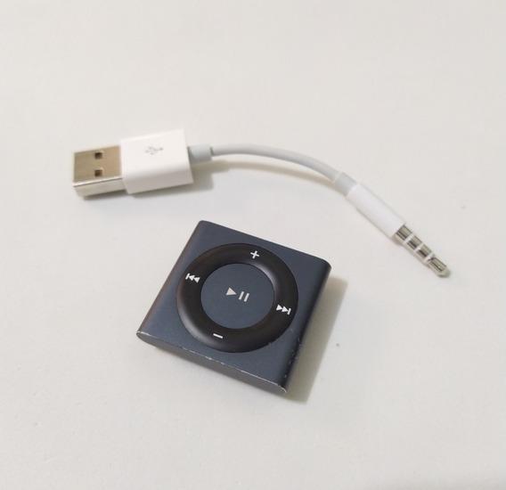 iPod Shuffle 4 Apple 2gb Cabo Cinza Usado - Parcelado 1f4vf