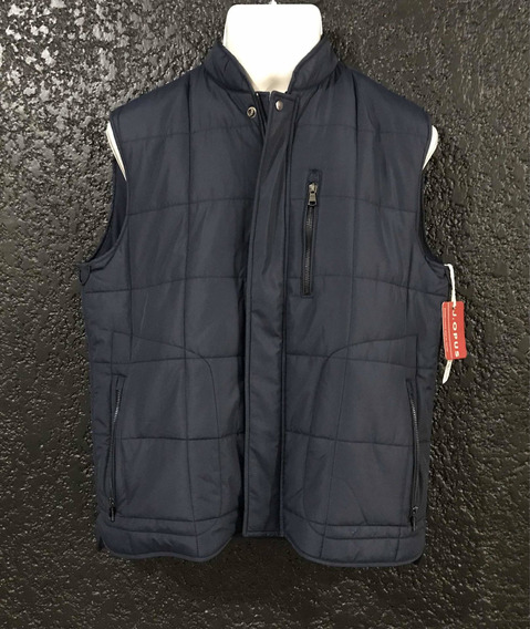 Chaleco Tipo Impermeable Azul. Marca J. Opus. T/m Nuevo.