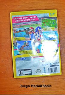 Juego Para Wii Mario Y Sonic London 2012