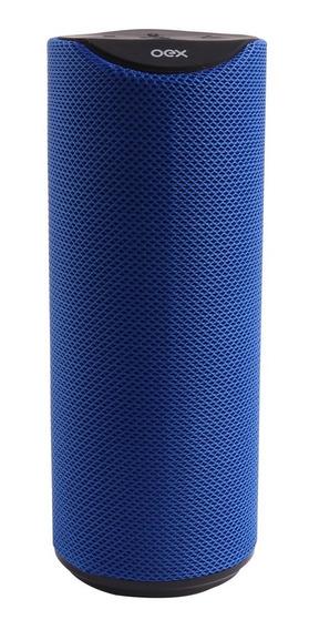 Speaker Oex Gaming Spool Sk410 20w Azul Bluetooth + Nfe