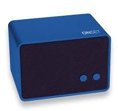 Parlante Bluetooth Onset Negro O Azul 3 W Microcentro